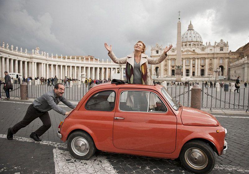 Simona Stašová v Římě vzpomínala na italskou lásku
